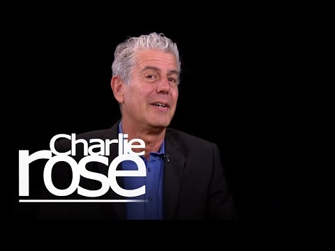 Anthony Bourdain on Cooking and Jiu-Jitsu (Dec. 2, 2014) | Charlie Rose