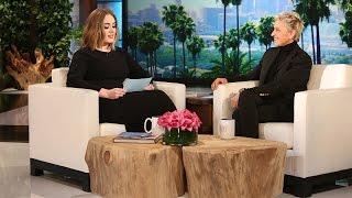 Video Hello, It's Adele (on Ellen's Voicemail) MP3, 3GP, MP4, WEBM, AVI, FLV April 2018
