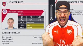This has to be one of the craziest transfer I have ever seen in fifa 17 career mode history!! fifa 17 arsenal career mode! ▻Second ...