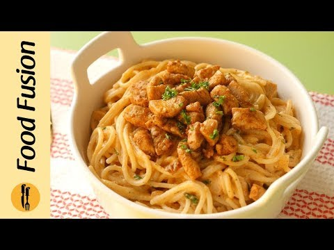 Spaghetti With Tomato Cream Sauce Recipe By Food Fusion