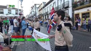 Sanjoaninas 2017-  Desfile de Charangas -  Escuteiros  - CNE 492 -  Conceição  - 28 de Junho 2017