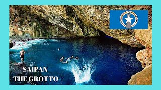 SAIPAN (Northern Mariana Islands, Pacific Ocean): Let's go for a tour of the Grotto, Saipan's famous unique diving spot, ...