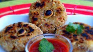 Easy / Healthy Vegetable Cutlet- in Tamil