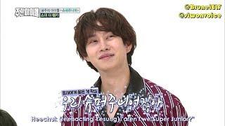 Download Lagu [ENGSUB] 171115 MBC Weekly Idol EP329 with Super Junior - Yesung & Heechul fighting Mp3