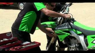 9. 2010 Kawasaki KX 450F Testing Video