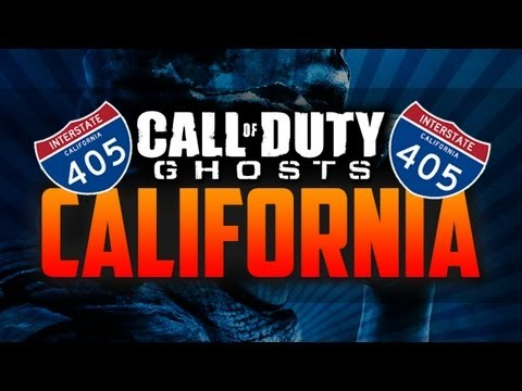 CALL OF DUTY: GHOSTS in CALIFORNIA! (Ghosts Secret Message Teasers, Day #4)