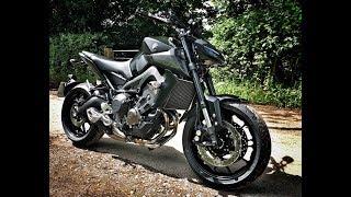 4. 2017 Yamaha MT-09 Review