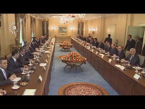 Ιράκ: Κρίσιμη επίσκεψη του τούρκου πρωθυπουργού