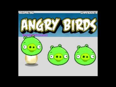 Angry Birds Game – Angry Birds Find The Golden Egg – Free Online Games For Kids To Play