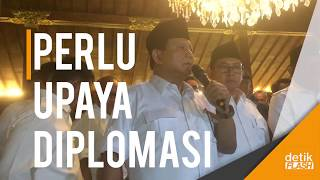 Video Prabowo Dukung Sikap Jokowi Kecam AS soal Yerussalem MP3, 3GP, MP4, WEBM, AVI, FLV Desember 2017