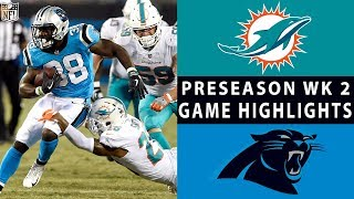 Dolphins vs. Panthers Highlights | NFL 2018 Preseason Week 2 by NFL