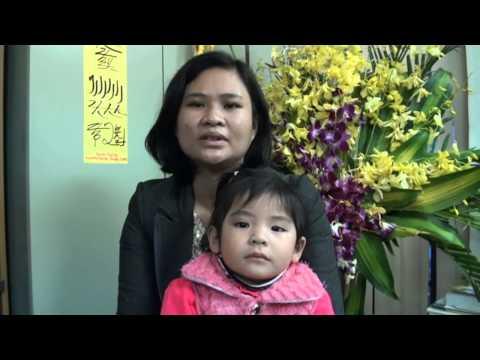 Cấy chỉ chữa liệt dây thần kinh VII do chấn thương ở trẻ em (catgut embedding therapy in Vietnam)