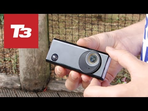 Autographer review camera hands-on video