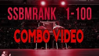 100 Combos – An SSBMRank 2016 Combo Video Feauturing all Top 100 Players in the World (GRSmash)