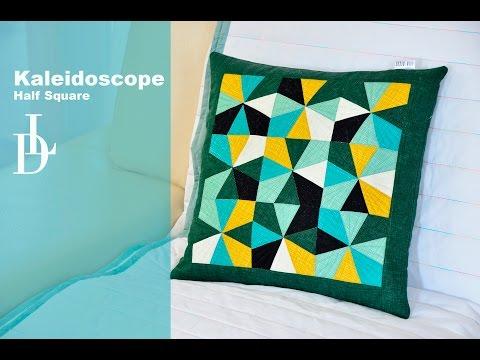 patchwork - cuscino con motivo caleidoscopio
