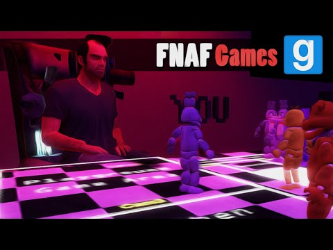CONTROL THE ANIMATRONICS | Gmod FNAF Games