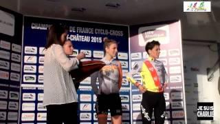 Pontchateau France  city pictures gallery : Championnat de France cyclo cross Pontchâteau 2015 Cat Dames