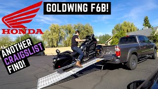 4. Buying Used Honda Goldwing F6B on Craigslist: Test Ride, Review, Impressions 2013 + Loading in Truck