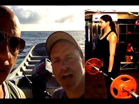 Vin Diesel And Deepika Padukone Training Hard For xXx