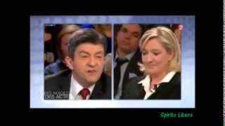 Video Marine Le Pen humilie Mélenchon de manière spectaculaire! MP3, 3GP, MP4, WEBM, AVI, FLV Mei 2017