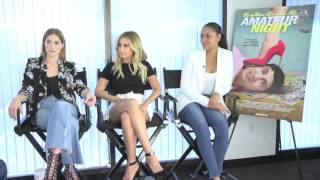 Nonton Amateur Night  Exclusive Cast Interview With Ashley Tisdale  Janet Montgomery   Bria Murphy Film Subtitle Indonesia Streaming Movie Download