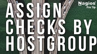 Master assigning service checks by hostgroup - Pro Tip