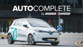 AutoComplete: Self-driving taxis arrive in Singapore by Roadshow