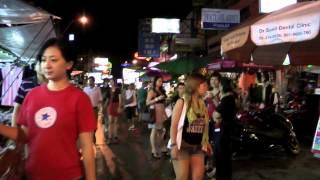 Khao San Road Nightlife - Bangkok Thailand