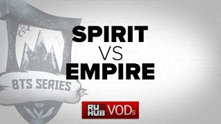 Spirit vs Empire, game 3