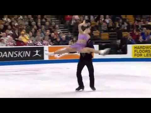 2014 Olympics Meryl Davis & Charlie White figure skate  -AMAZING !