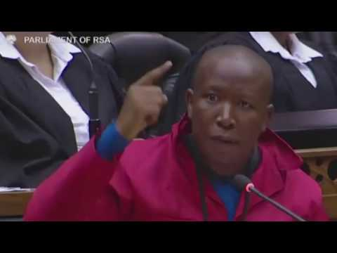 SA rejected the ANC's kleptocracy - Malema's full election debate speech in Parliament
