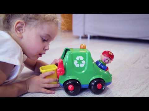 First Friends Refuse Truck First Friends Products Tolo Toys