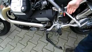 8. Moto Guzzi Stelvio 1200 ABS - 2010 Anleitung !!