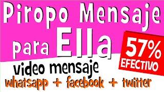 PIROPOS DE AMOR Para Mujeres | Videos Para Compartir En Whatsapp Facebook | Mensaje De Amor