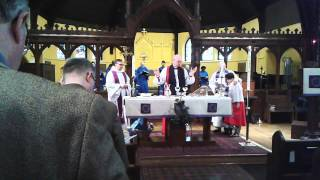 Saint Marys (PA) United States  city photos : St. Mary Episcopal church in Adrmore, PA communion