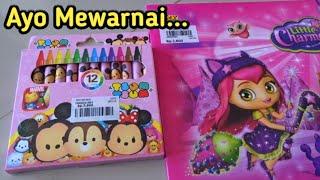 Download Video Belajar Menggambar Dan Mewarnai 💖 Pakai Krayon Tsum Tsum, Drawing Book, Learning Drawing, Coloring MP3 3GP MP4