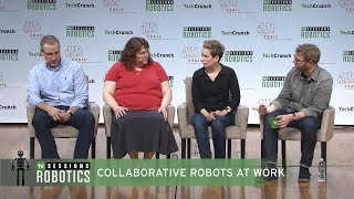 Collaborative Robots At Work with Clara Vu (VEO), Jerome Dubois (6 River Systems) and Holly Yanco (UMass Lowell)TechCrunch Sessions: Robotics is a single-day event designed to facilitate in-depth conversation and networking with the technologists, researchers and students of the robotics community as well as the founders and investors bringing innovation to the masses. TechCrunch is a leading technology media property, dedicated to obsessively profiling startups, reviewing new Internet products, and breaking tech news.Subscribe to TechCrunch today: http://bit.ly/18J0X2e