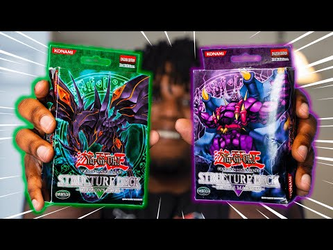 1st Yu-Gi-Oh Structure Decks EVER! Dragons vs Zombies!