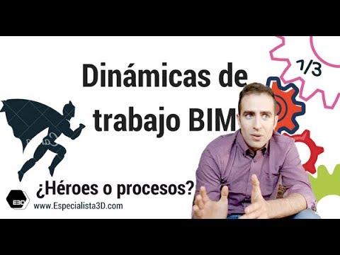 Dinámicas de trabajo BIM 1/3. ¿Héroes o procesos?