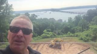 Steve Griggs Design   The Pool High above the Hudson