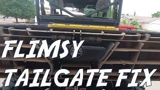 6. How to fix a flimsy tailgate - DIY Can Am Defender