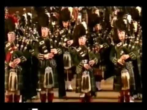 bagpipes - Edinburgh Military Tattoo .... listen... and watch... words are not necesary. Just enjoy it!