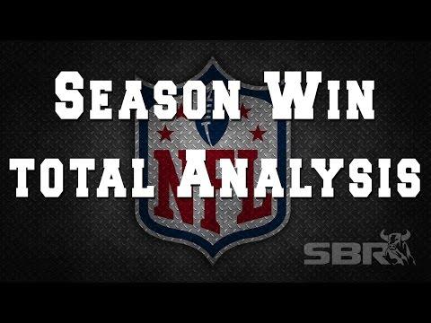NFL Betting: Team Season Win Totals Picks
