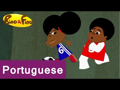 A Portuguese Afrocentric Educational Cartoon Show For Children