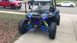8. 2017 Polaris RZR XP1000 w/ ride command