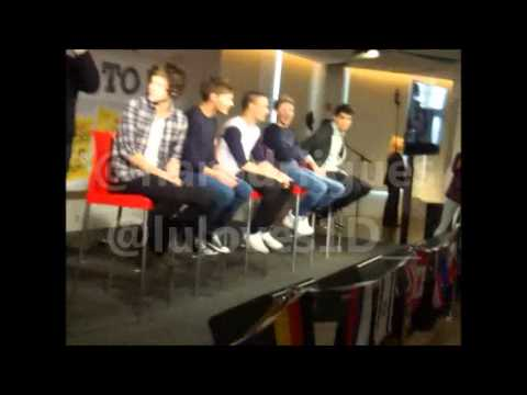 First Appearance of One Direction at Bring me to 1D