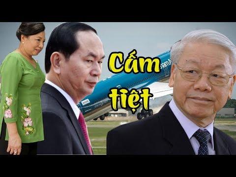 Gay cấn: Vợ chồng Trần Đại Quang sẽ bị cấm xuất cảnh, phuc vụ cho việc điều tra vụ án Phan Văn Vĩnh?