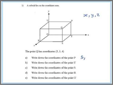 3d Coordinates Gcse Higher Fullhurst Maths