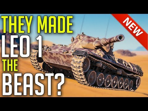 New Leopard 1 Is A SNIPER! ► World Of Tanks Update 1.5.1 Review