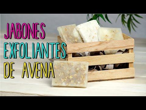Jabones Caseros de Avena - Jabones Exfoliantes Artesanales - Catwalk